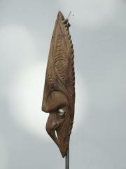 Купить маску амулет народа Sepik. Страна происхождения - Папуа Новая Гвинея