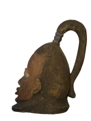 Шлем маска народности Yoruba (Бенин)