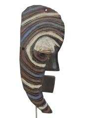 Африканская маска тайного общества Kifwebe народности Songye