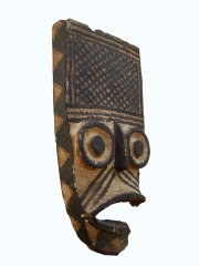 Маска народности Bwa. Страна происхождения - Буркина Фасо
