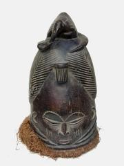 Ритуальная маска шлем тайного женской ассоциации Sande