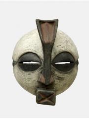 Африканская маска Luba из Конго