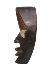 Деревянная африканская маска Dan из Либерии