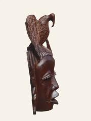 """Декоративная африканская настенная маска из красного дерева """"Полет"""""""