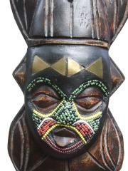Декоративная маска народности Akan 2341