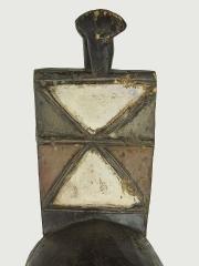 Ритуальная маска народности Nuna,изображающая птицу - покровителя семьи (тотем)
