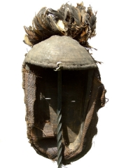 Ритуальная африканская маска народности Fang (Габон)