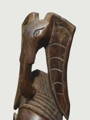 """Африканская настенная маска из твердой породы дерева """"Сила слона"""""""