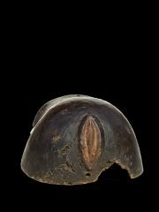 Африканская нательная маска изображающая живот беременной