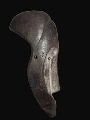 Африканская маска из дерева народности Fang, Габон, высота 50 см