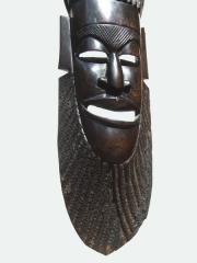 """Купить африканскую маску из эбенового дерева """"Союз четырех"""""""
