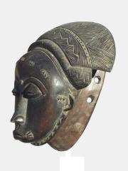 Церемониальная маска народности Бауле (Baule)