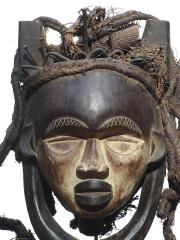 Bakongo Fetish Mask Bakongo (Конго)