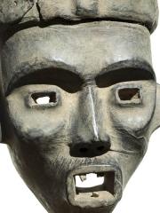 Африканская маска народа Widekum