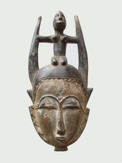 Маска Baoule [Кот-д'Ивуар]