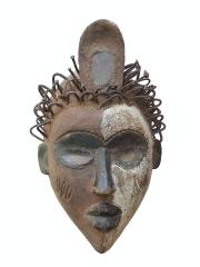 Африканская маска шлем фетиш народности Bakongo (Конго)