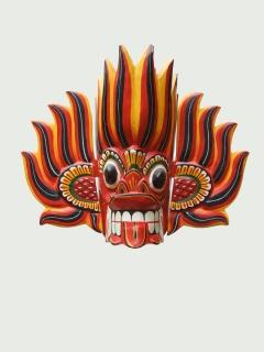 Маска «Гиниджал Ракша» [Шри-Ланка]
