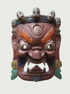 Маска «Махакала» [Тибет]