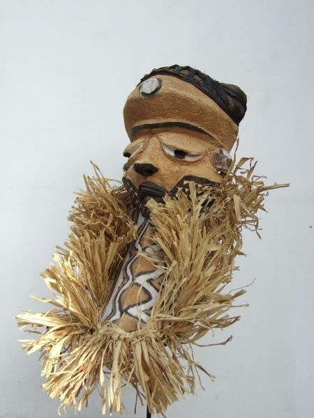 Ритуальная африканская маска народности Pende
