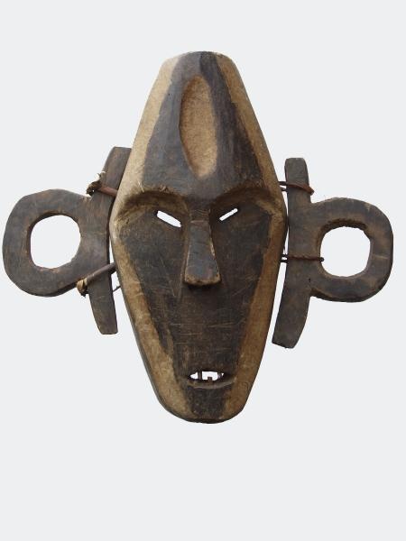 Африканская маска народности Boa, страна происхождения Конго