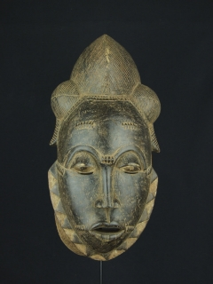 Маска Yaure [Кот-д'Ивуар]