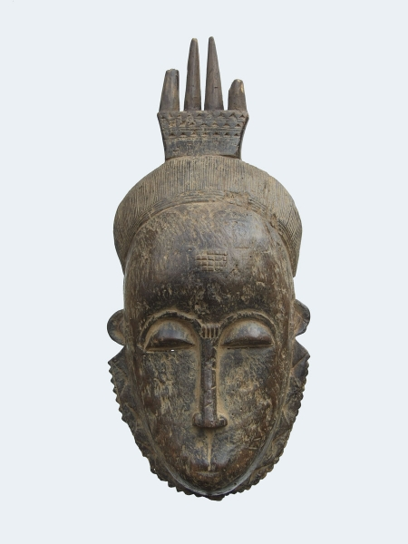 Церемониальная (ритуальная) маска народности Baoule