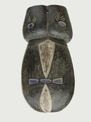 Африканская маска Ndimu изображающая живот беременной