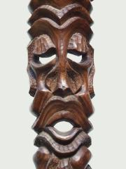 """Настенная маска из дерева """"Домовой"""""""