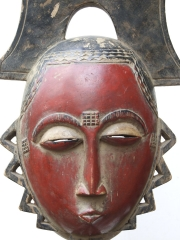 Маска народности Baule (Бауле)