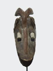 Аутентичная африканская маска шлем Mambila