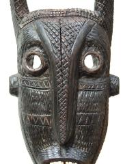 Декоративная африканская маска барана (ram) народности Pende