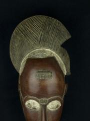 Африканская маска народа Бауле (Baule), Кот-Дивуар