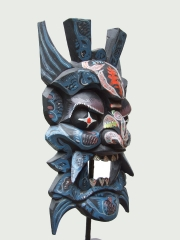 """Китайская настенная маска """"Пангу"""" (Pangu) из дерева"""