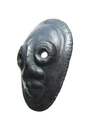 Шаманская маска из Гималаев (Непал)