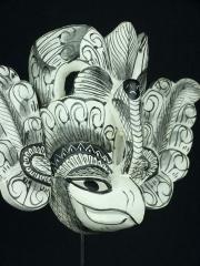 """Маска """"Гурулу Ракша"""" из Шри-Ланка"""