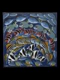 Картина «Рыбы» [Танзания] 75*76 см