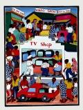 Картина «TV Shop» [Танзания] 59*79 см