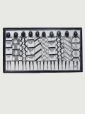 Картина «Воины» [Танзания] 70*39 см