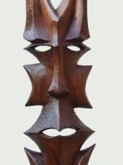 """Настенная маска из твердой породы дерева """"Защитник"""" из Филиппин"""