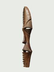 """Настенная маска из твердой породы дерева """"Домовой"""""""