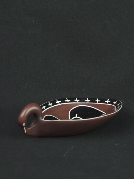 Пепельница из натурального камня, сделана в Африке