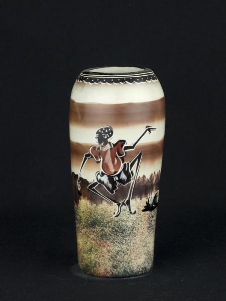 """Африканская ваза из натурального камня серии """"Теплая Африка"""""""