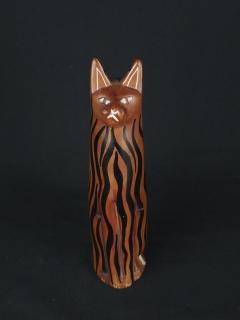Статуэтка «Кошка» [Кения], 20 см