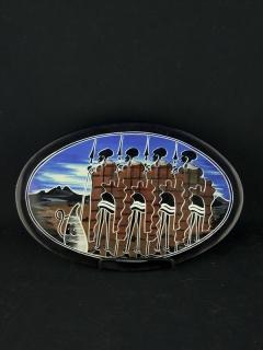 Тарелка [Кения], 25 см