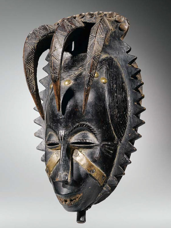 Африканская похоронная маска Yaure