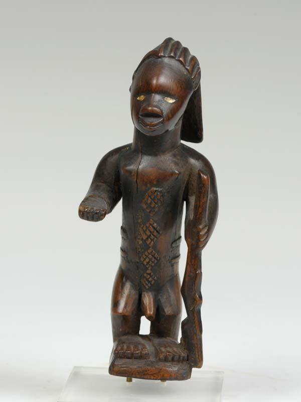 Ритуальная статуэтка Beembe музея университета UIOWA
