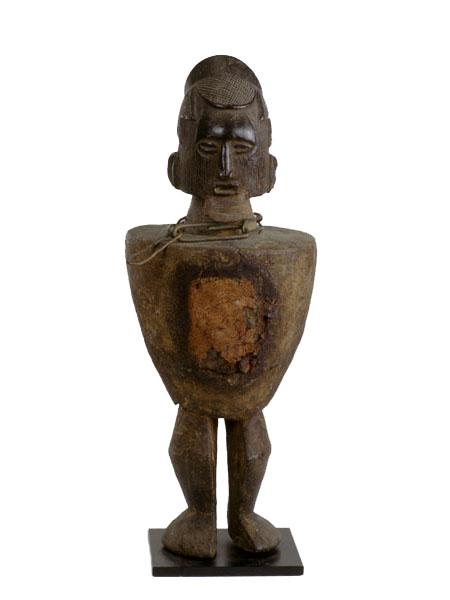 Фетиш народа Teke, музейискусств Университета Айовы