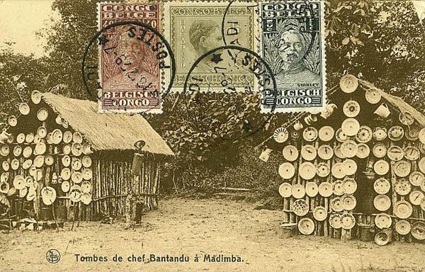 Продавцы тарелок в Конго в начале 20 века