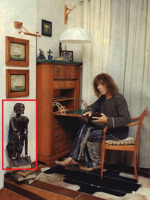 Искусство Африки в квартире Валерия Леонтьева