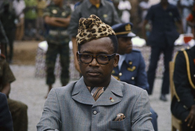 Президент и диктатор Заира - Мобуту Сесе Секо